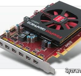 Модель FirePro W600 открывает новое поколение 3D-карт AMD для профессионального применения
