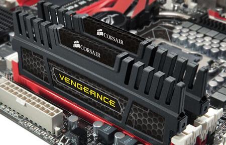 Объем набора модулей памяти Corsair Vengeance DDR3-1600 равен 16 ГБ