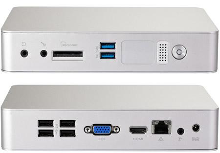 Мини-ПК Foxconn Nano AT-5250 и AT-5600 имеют пассивное охлаждение