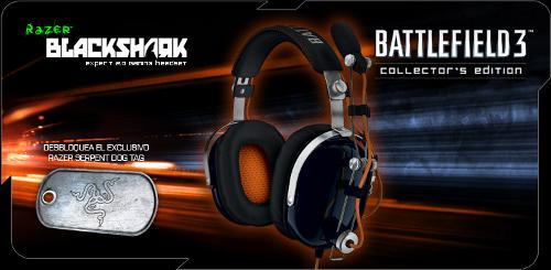 Новая игровая гарнитура Razer Battlefield 3 BlackShark 2.0, не для музыки с Apple