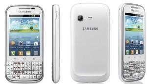 Смартфон Samsung GT-B5330 представлен официально под именем Galaxy Chat.