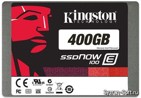 Kingston выпускает твердотельные накопители SSDNow E100