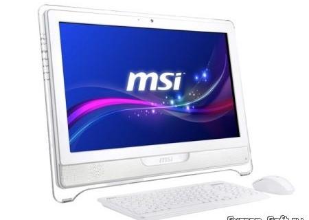 MSI первой получила сертификацию Windows 8 для своих моноблоков