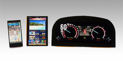 Japan Display разработали новые мобильные экраны Innovation Vehicle