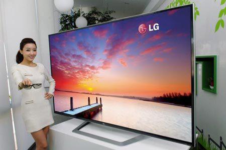 """84"""" 3D-телевизор Ultra HD от LG уже в России"""