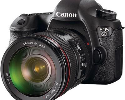Компактная полнокадровая зеркалка Canon EOS 6D