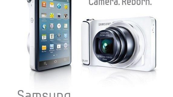 Новая фотокамера Samsung Galaxy Camera на Android