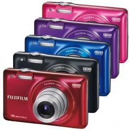 Простая и стильная фотокамера Fujifilm FinePix JX550