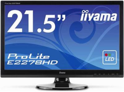 """Корпорация iiyama представила 22"""" Full HD монитор ProLite E2278HD"""