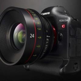 В Японии в продаже появилась 4К-камера Canon EOS-1D C