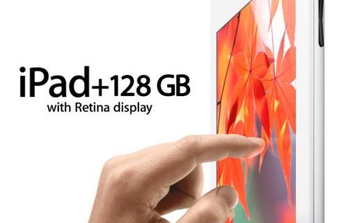 Разработчики Apple удвоили память в планшетах iPad