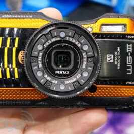 Фотоаппараты в усиленном корпусе Pentax WG-3 и Pentax WG-3 GPS