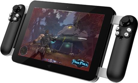 Игровой планшет Razer Edge с двумя аналоговыми джойстиками