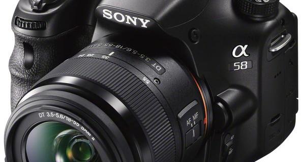 Sony представила новый фотоаппарат α58