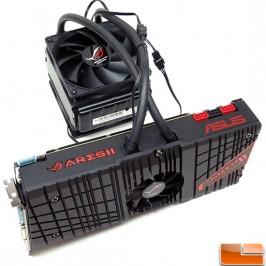 Двухпроцессорная видеокарта ASUS ROG ARES II-6GD5