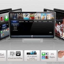 Концепт телевизора Apple iTV