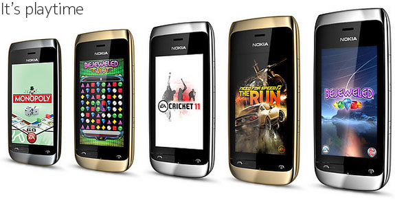 Двухсимник Nokia Asha 310 за $102