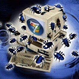 Заражение компьютерными вирусами. Лаборатория Касперского