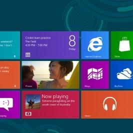 Управление жестами Windows 8
