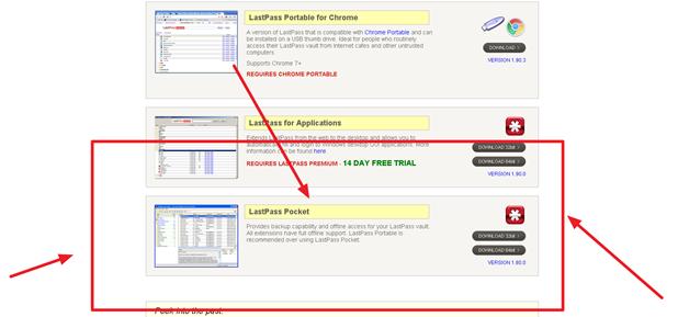Бесплатное приложение для windows 8 LastPass
