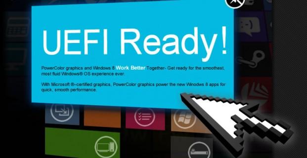 Установка ОС Windows 8 в режиме uefi