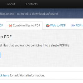 Бесплатный онлайн-конвертер PDF файлов