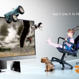 "27"" 3D-монитор AOC d2757Ph для умного дома"