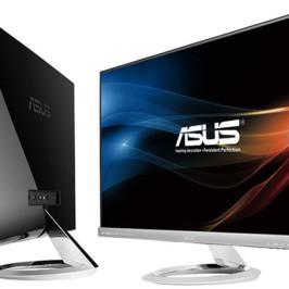 Компания ASUS представила новые безрамочные мониторы Designo MX279H и MX239H