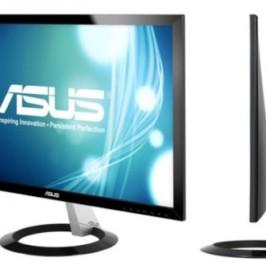 Тонкие мониторы ASUS VX238T и VX238H