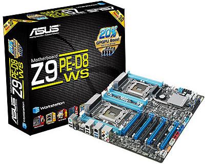 ASUS Z9PE-D8 WS: системная плата для двух процессоров