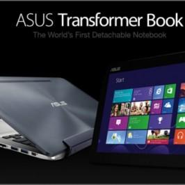 Компания ASUS выпустила гибридный планшет Transformer Book