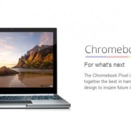 Google анонсировала ноутбук Chromebook Pixel