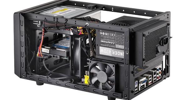 Cooler Master Elite 120 Advanced: корпус формфактора mini-ITX с поддержкой мощных комплектующих оценен в 45 евро