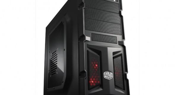 Корпус Cooler Master K350 — для геймеров и энтузиастов