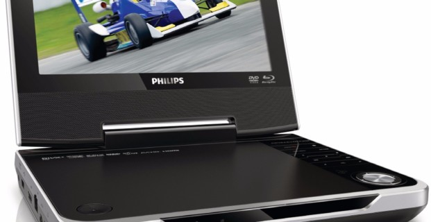 Портативный DVD-плеер Philips PD9048 с ТВ-ресивером