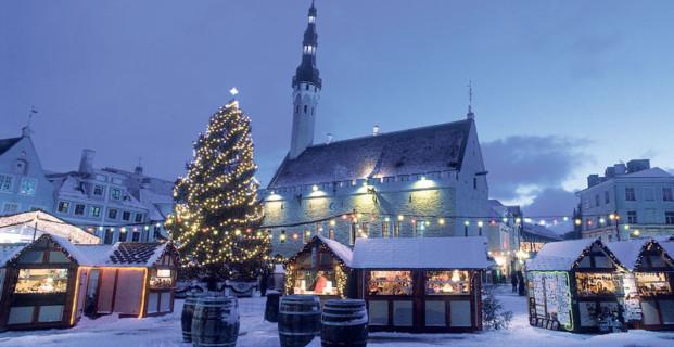 Новогодние туры в Эстонию в Нарву