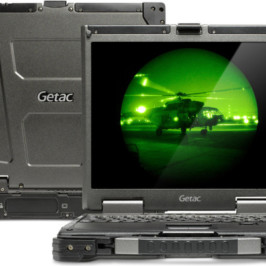 Компания Getac обновила военный ноутбук B300