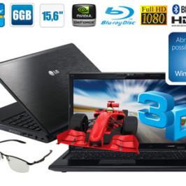 Ноутбук LG A530 с поддержкой 3D