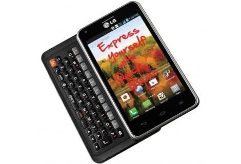 Компания LG выпустила смартфон Mach, имеющий QWERTY-клавиатуру