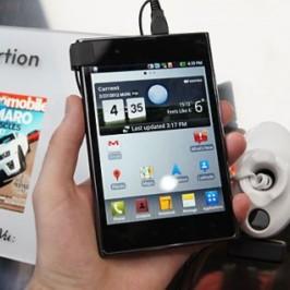 Компания LG представила международную версию «квадратного» смартфона Optimus Vu
