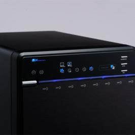 Внешние накопители Logitec серии LHR-8B рассчитаны на установку восьми HDD
