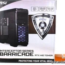 Ассортимент корпусов MSI пополнился моделью Barricade