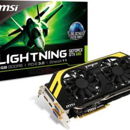 3D-карта MSI GeForce GTX 680 Lightning представлена официально