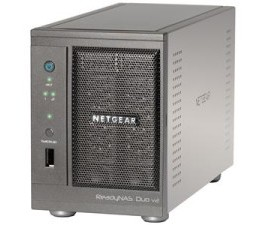 Новое недорогое сетевое хранилище NETGEAR ReadyNAS Duo V2