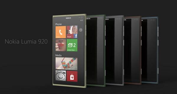 Смартфон Nokia Lumia 920 с экраном PureMotion HD+