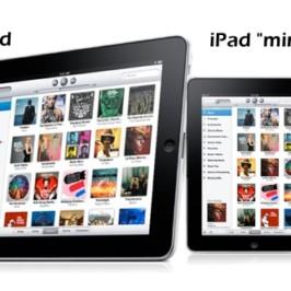 Планшет iPad Mini ожидается уже в октябре