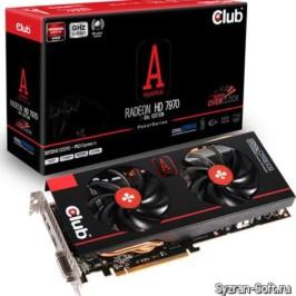 Новый туз из рукава: Club 3D представила видеокарту Radeon HD 7970 royalAce