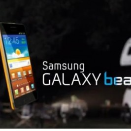 Краткий обзор смартфона Samsung Galaxy Beam