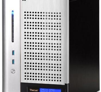 Сетевой накопитель Thecus N7510 рассчитан на установку семи HDD