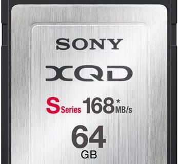 Карточки памяти Sony XQD S развивают скорость записи до 168 МБ/с